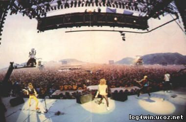 US-Festival 1983 in San Bernadino/California
